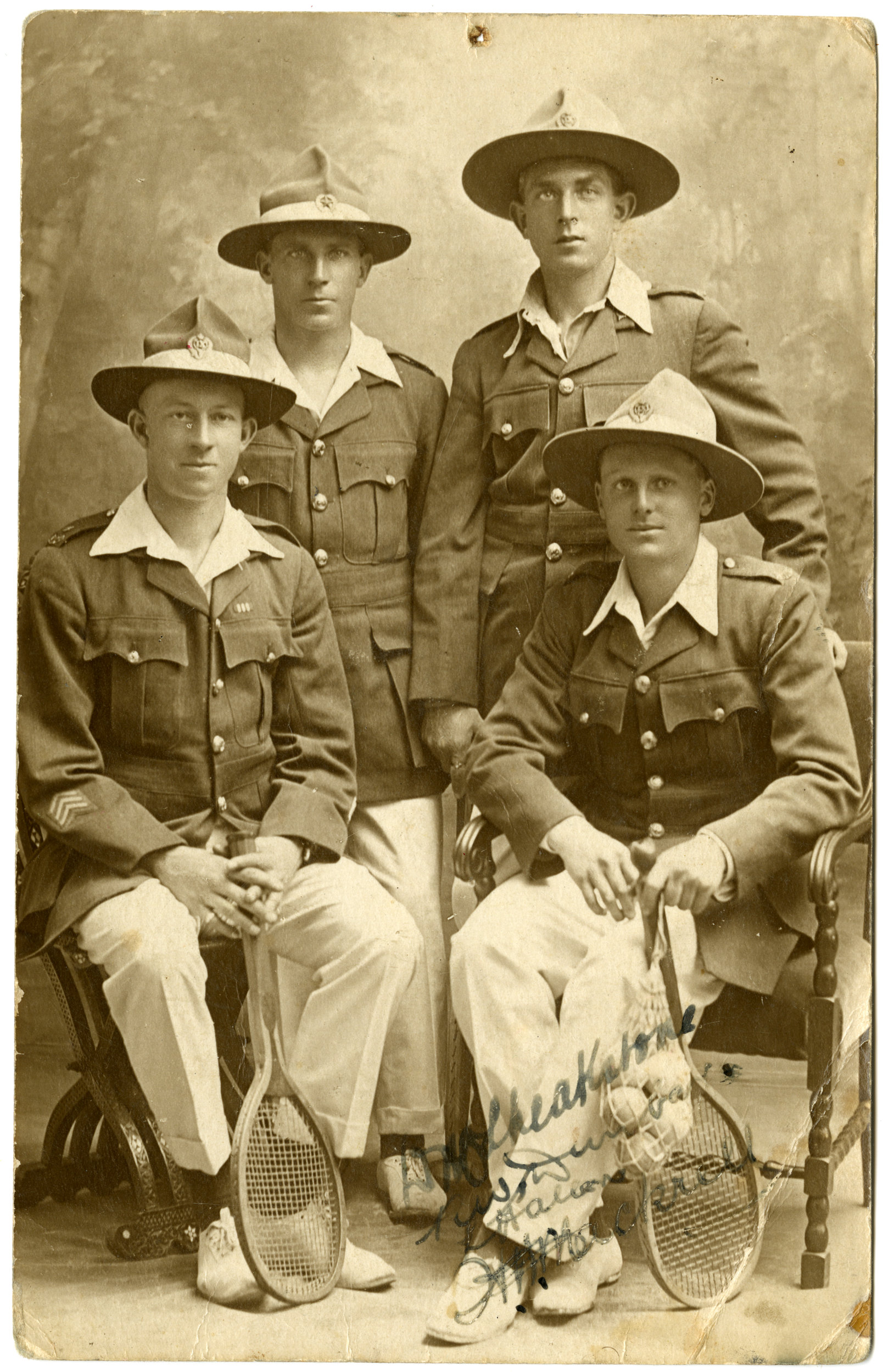 Four soldiers [Front]