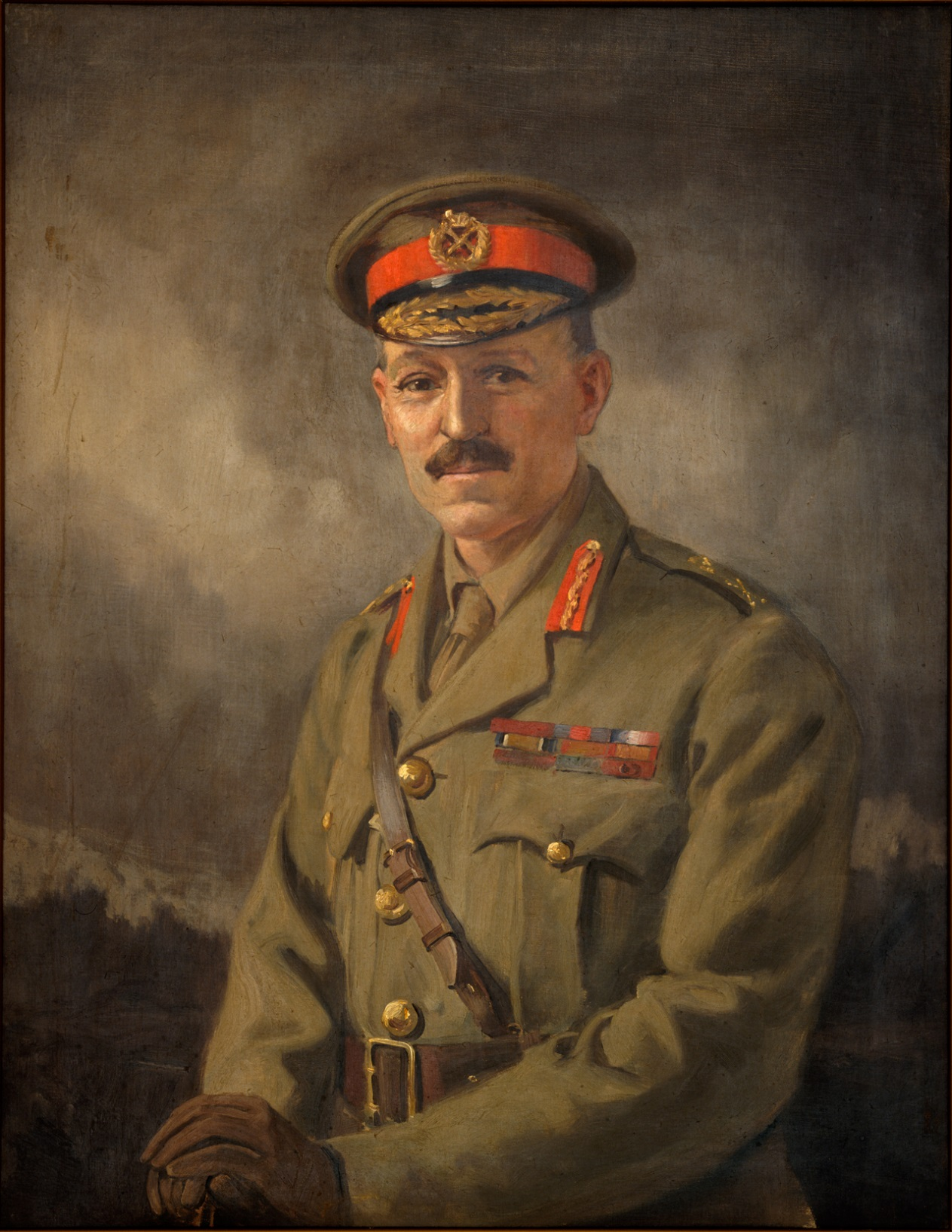 "Figure 3: Portrait by George Edmund Butler entitled: ""Major General Sir Andrew H Russell, KCB, KCMG, CB, 1920"". Reference: Archives New Zealand Reference: AAAC 898 NCWA 543"