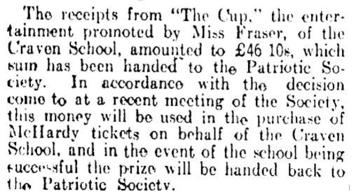 Click to enlarge. Manawatu Standard, Volume XLI, Issue 10225, 11 November 1915, Page 4