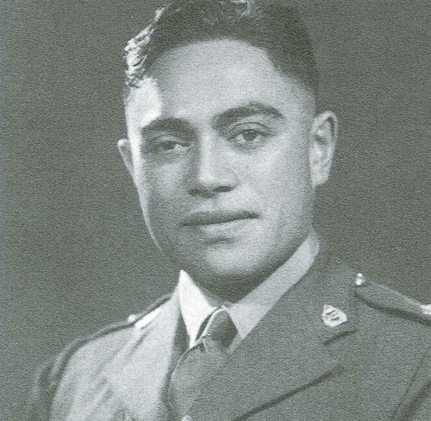 Figure 3: Matarehua Wikiriwhi, circa 1941. Source: Monty Soutar, Nga Tama Toa - The Price of Citizenship, pg 320.