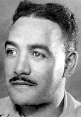 Figure 3: Portrait picture of Wi Patene Anaru while in service. Source: 28th Māori Battalion website. Accessed 12 September 2016. URL:      http://www.28maoribattalion.org.nz/photo/wi-patene-anaru