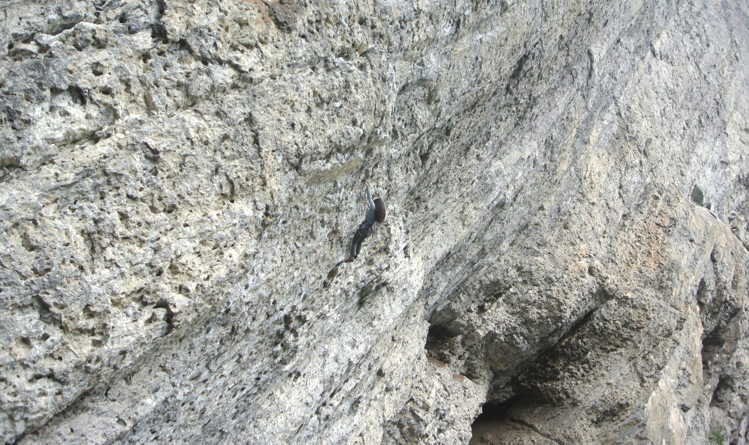 Managed to onsight Stormtroopers in Drag (11b) at the Meathooks wall in Grassi Lakes!