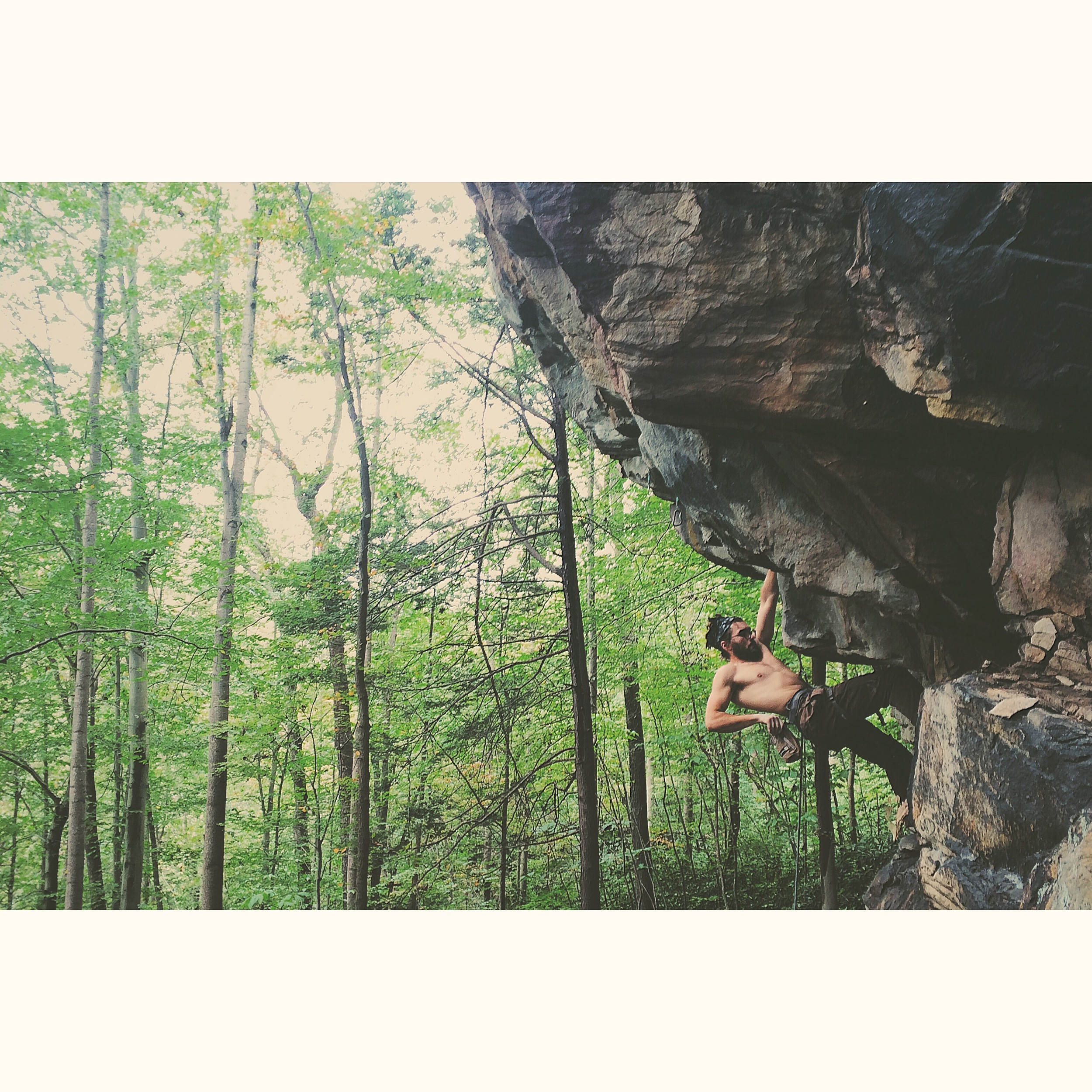 Will on Psychowrangler (12a) at Cottontop!