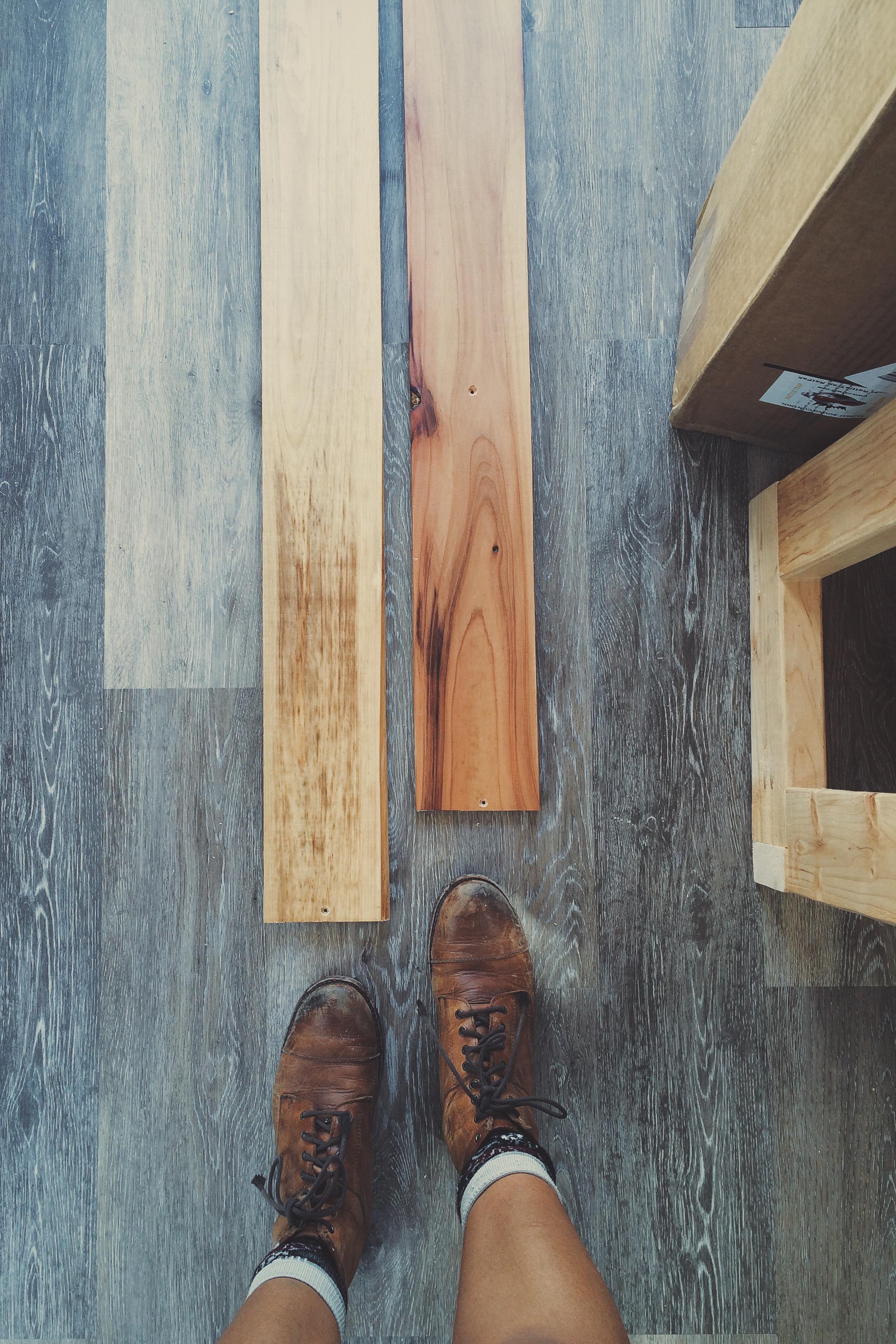 wood wall panels vs vinyl wood floor