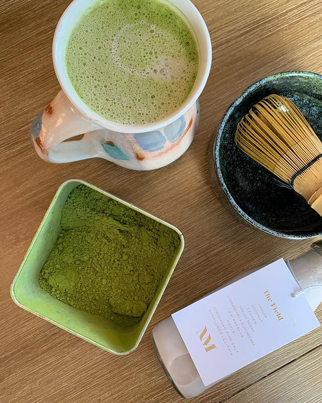 Blending up nourishing concoctions with some of my favourite local producers makes for a very happy Sunday.  Today @larrysmarkets we made a Strawberry Lavender Matcha  Latte with the fruits of labour of @nutmegmylk @amodatea  @harmonic_arts . Feeling fortunate to be surrounded by such an inspiring network of local producers. 👋  Matcha by @amodatea  Strawberry Nutmilk by @nutmegmylk with berries from @krauseberryfarms  Lavender from @harmonic_arts