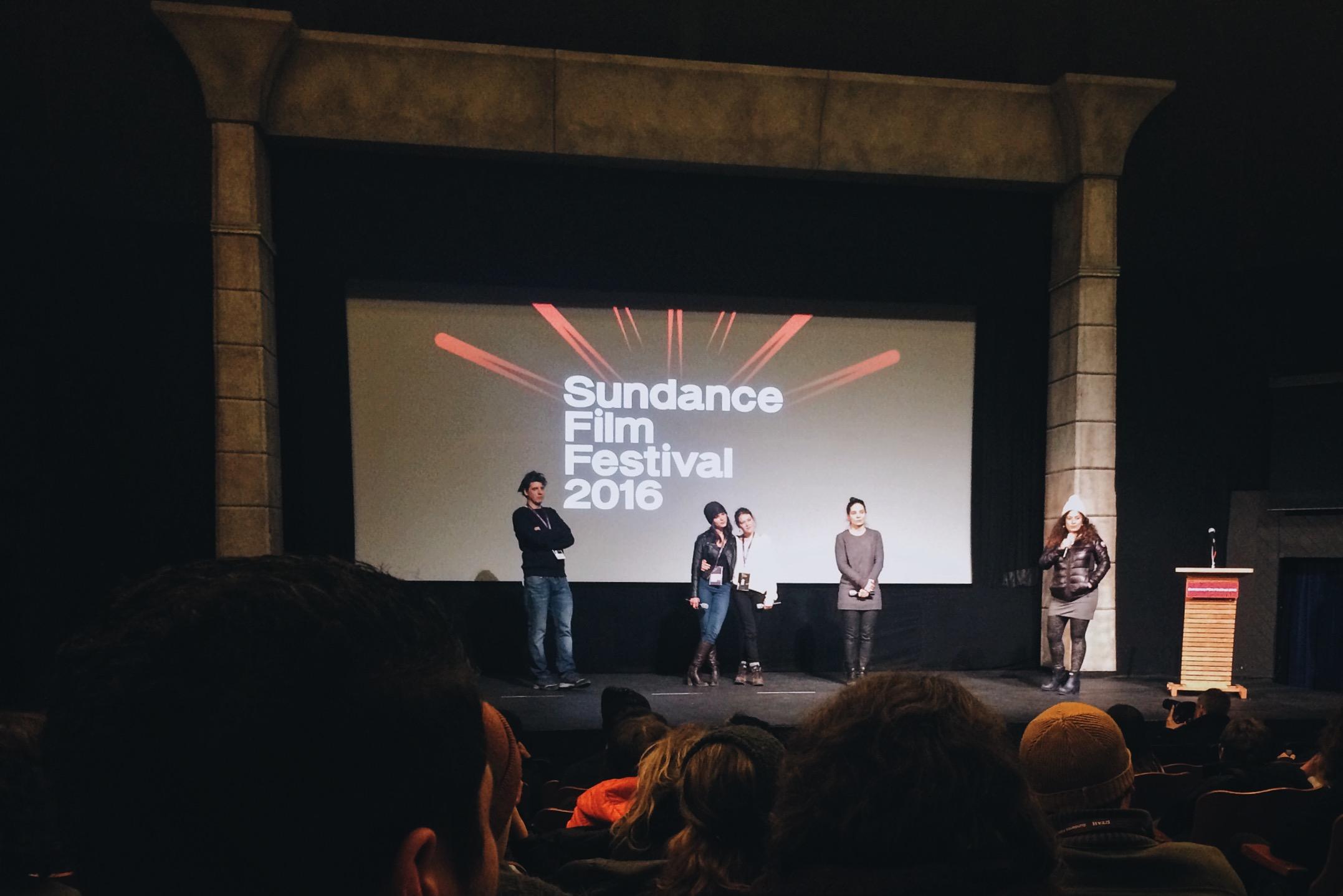 Sundance Film Festival, Park City, Utah.