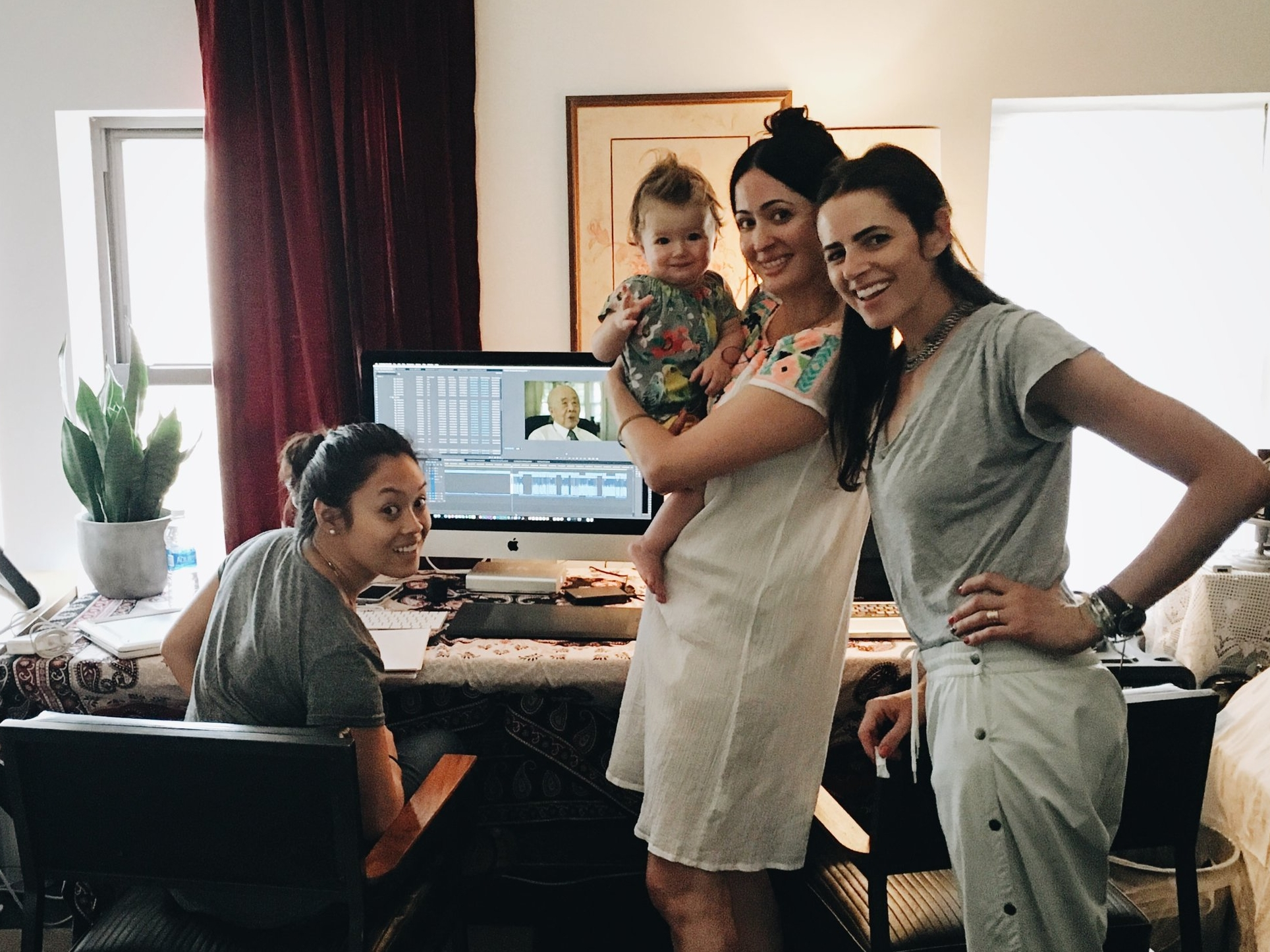 Part of the Tiger team. Assistant editor, editor, producer, and executive producer (the baby).