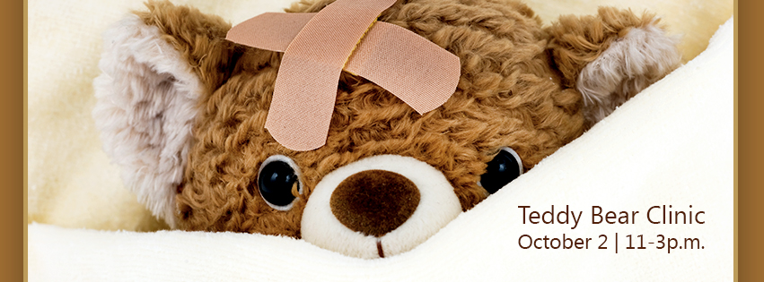 Teddy Bear Clinic Facebook Event Header