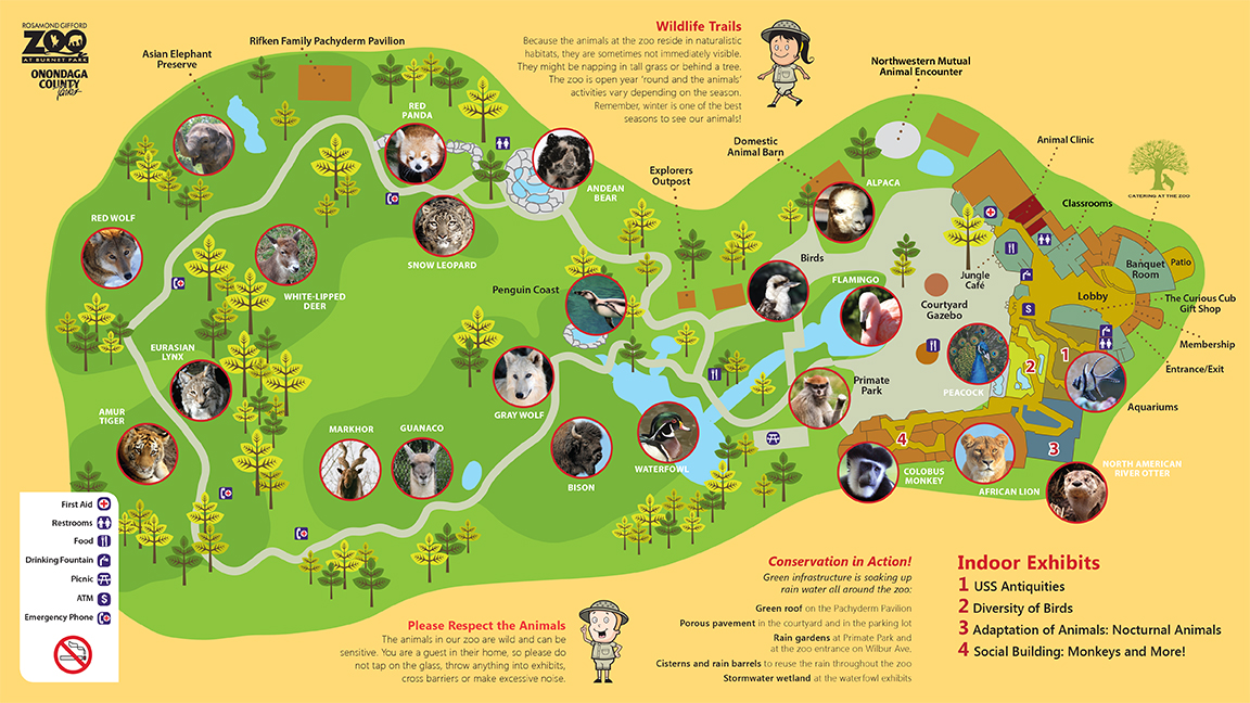 Zoo Map Inside
