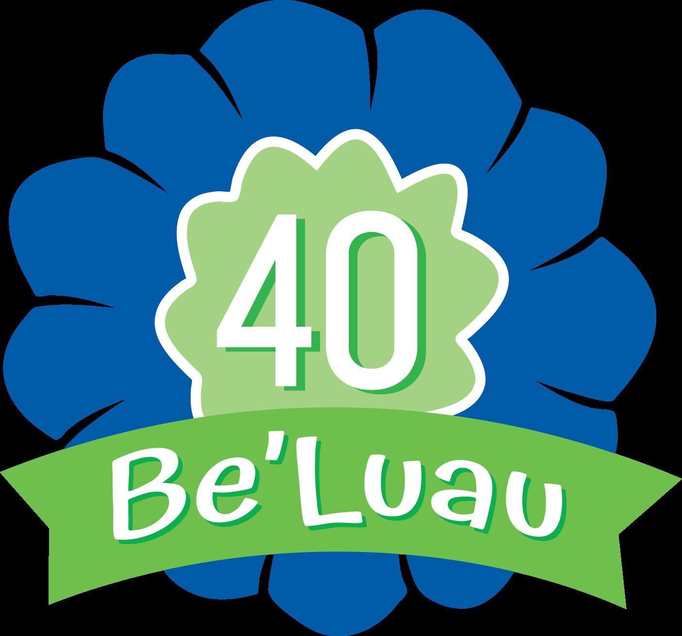 40 Be'Luau Event Logo