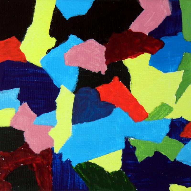 Abstract Purple Heart #01