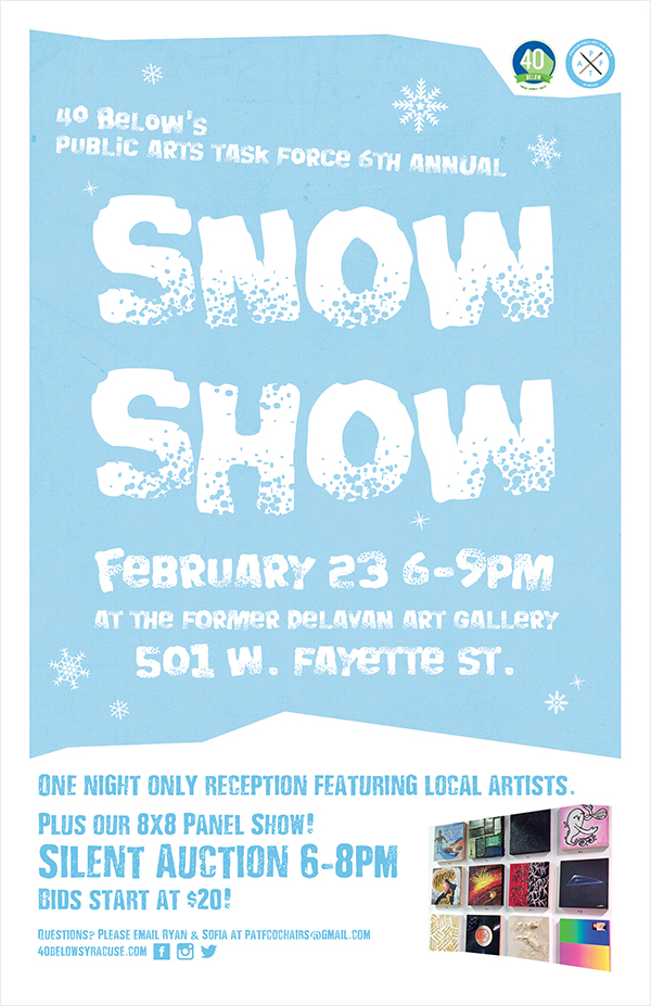 2017 PATF Snow Show Poster