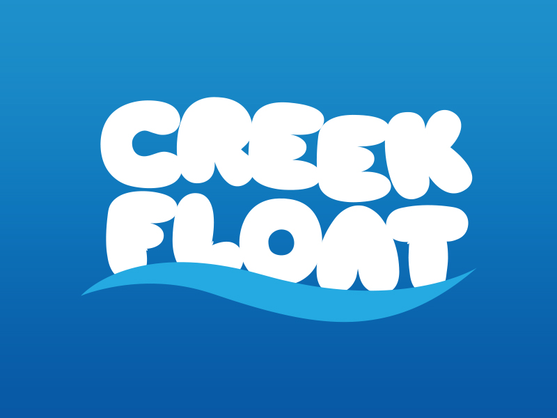 Creek Float Logo Concept