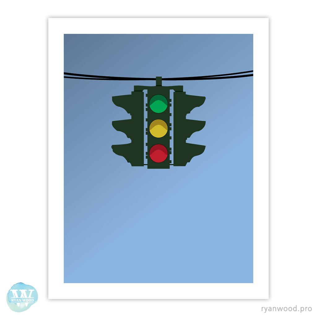 Tipperary Hill Traffic Light