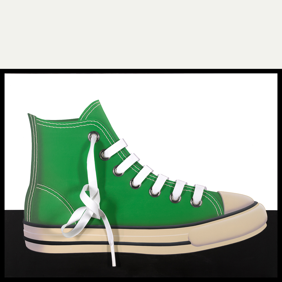 CANVAS SHOE (Green/Starboard/Right)