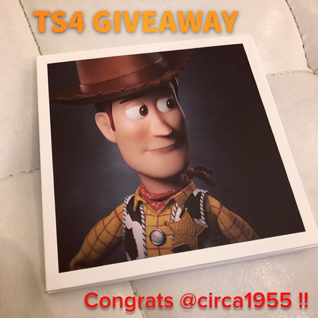 Congrats to @circa1955 for winning the Toy Story 4 portrait card set! Thanks to everyone who entered, I really had an absolute blast working on these poses and love reading all the responses. And Woody was the overall favorite, followed closely by Jesse. Hope you all love the movie!!