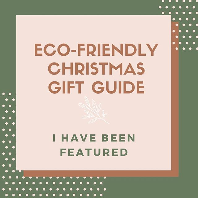 I'm so very excited to be featured in @coco_rose_interiors Eco-Friendly Christmas Gift Guide!! Head over and check it out, it's full of ethically and sustainably made gift ideas, plus some awesome discounts!! Sweet Dreams in Organic Cotton xxx