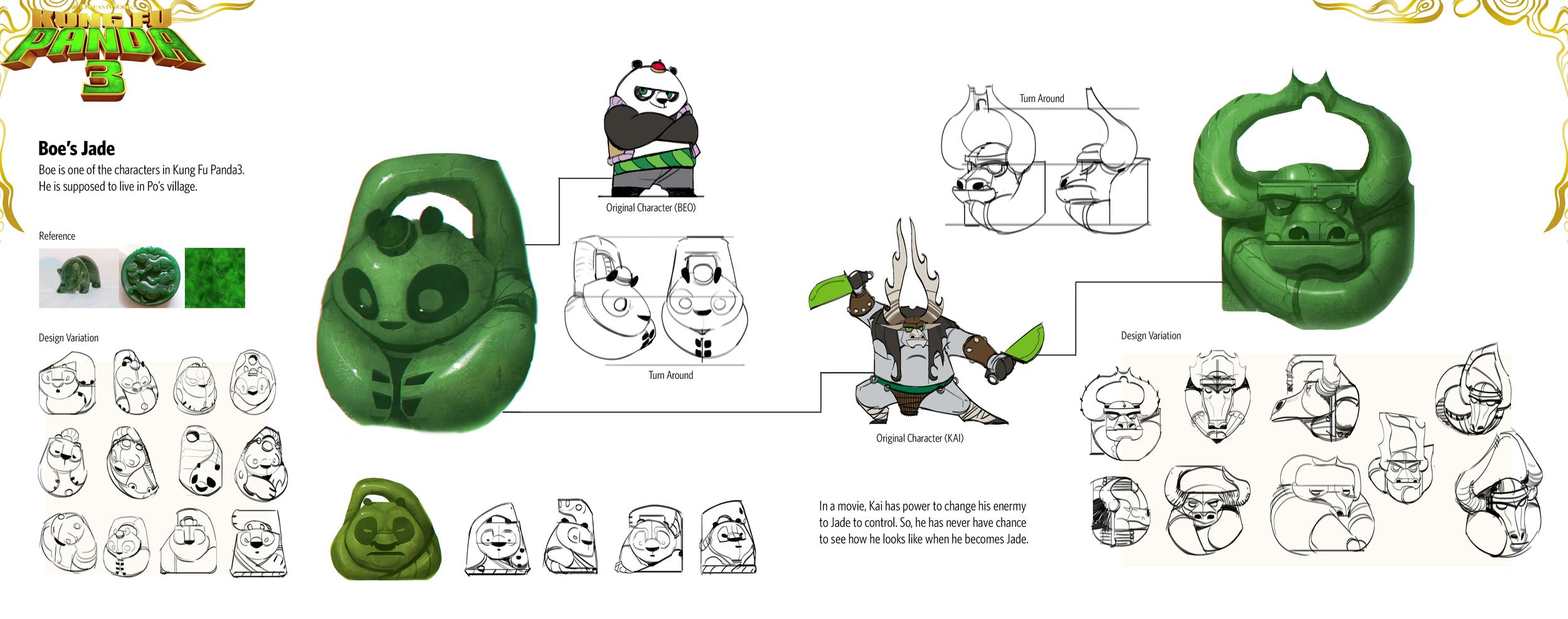 Kung Fu Panda 3 Toy Design Yewon Park