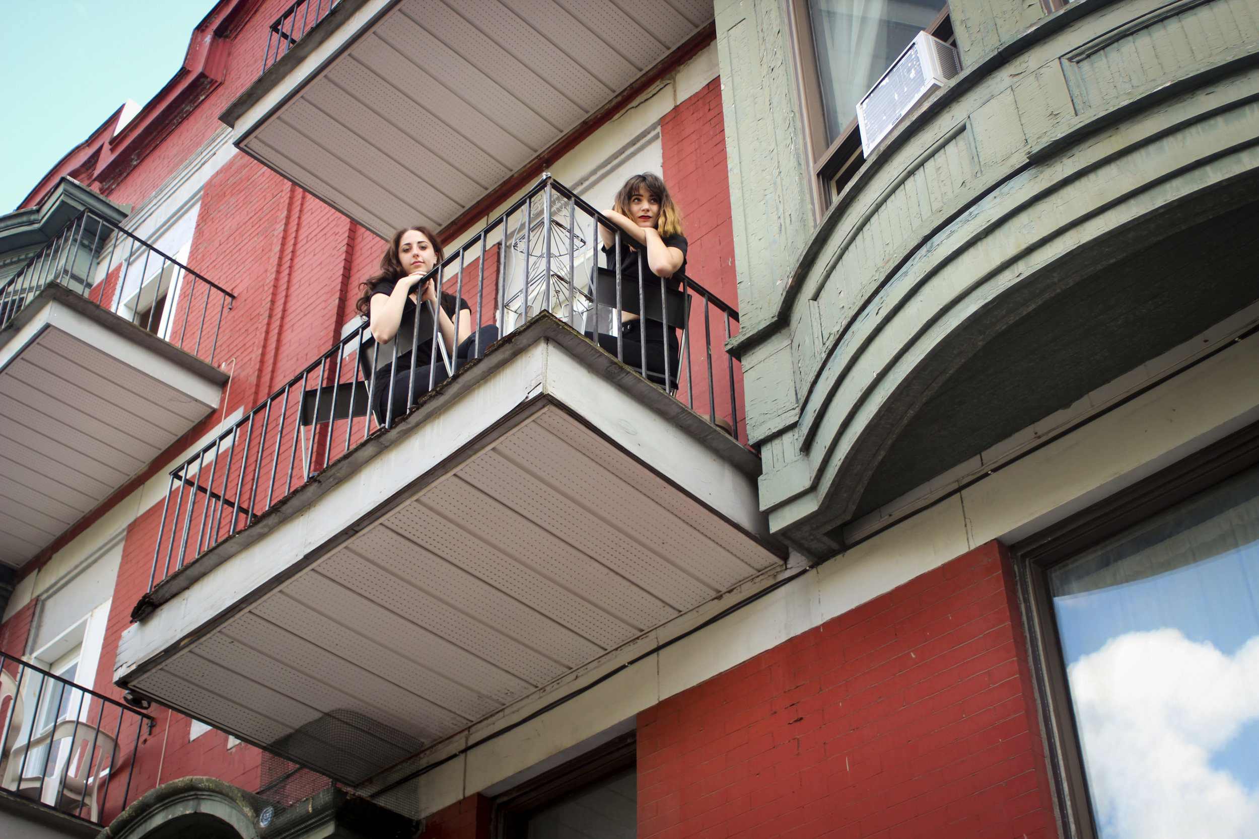 Ali, Tereza, & The Balcony