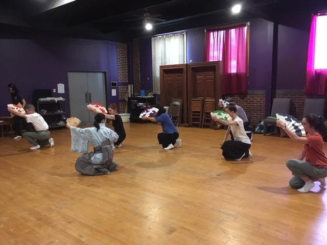 Oshima Sensei teaching   Shojo  , Bloomsburg, PA 2019