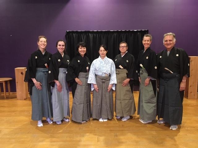 The NTP US participants and Oshima Sensei, Bloomsburg, PA 2019