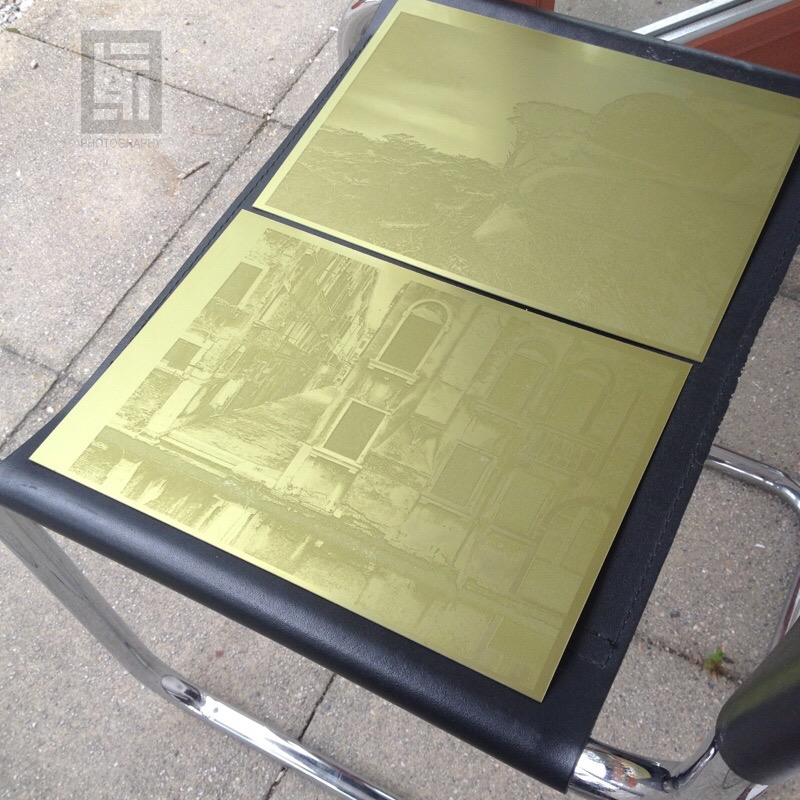 UV solar curing full sized A4 plates