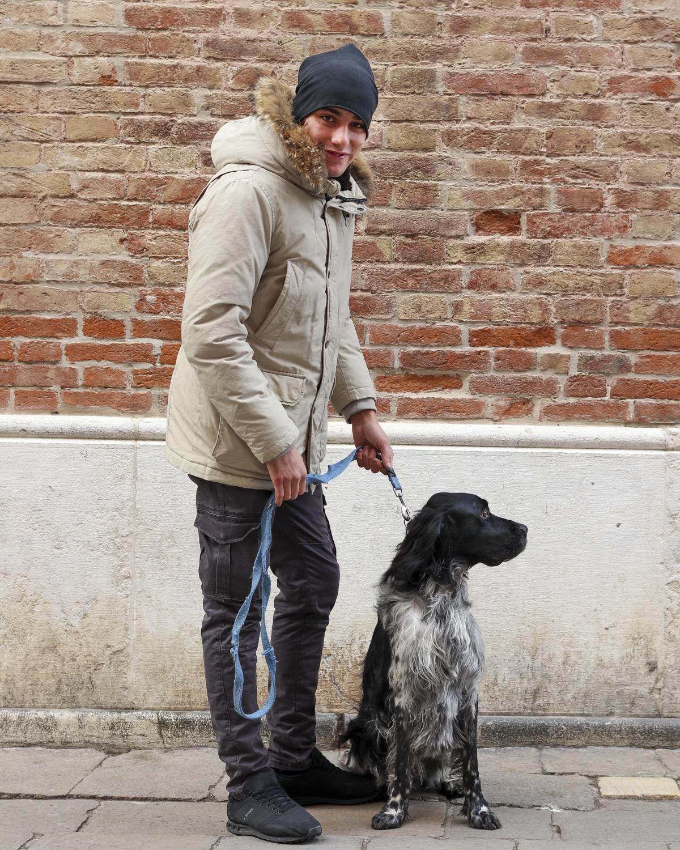 Dino with Delia