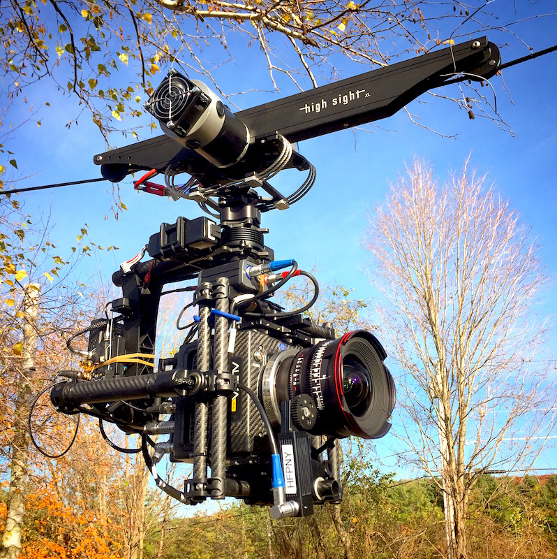 Cinema - Imagine your camera floating over hundreds of feet just inches off the ground. Produce tracking shots with out having to lay track. Tell your story with camera moves unlike any other, getting you close to the action without putting your gear or talent at risk.