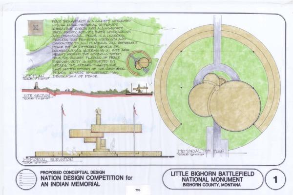 Little Bighorn Battle Field Indian Memorial
