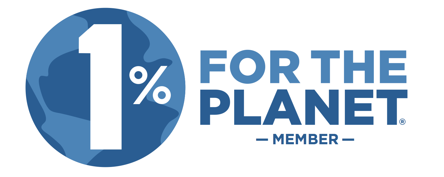One Percent For The Planet: an organization that knows how to make a difference.
