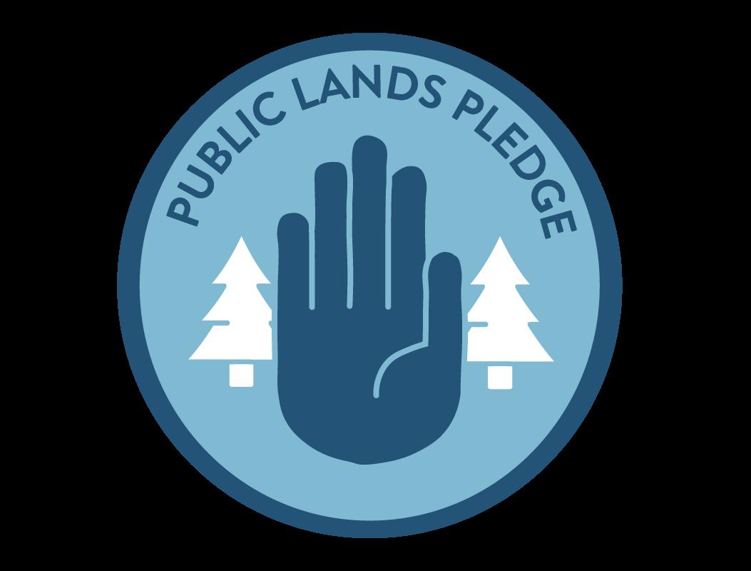Our Public Lands Pledge Logo