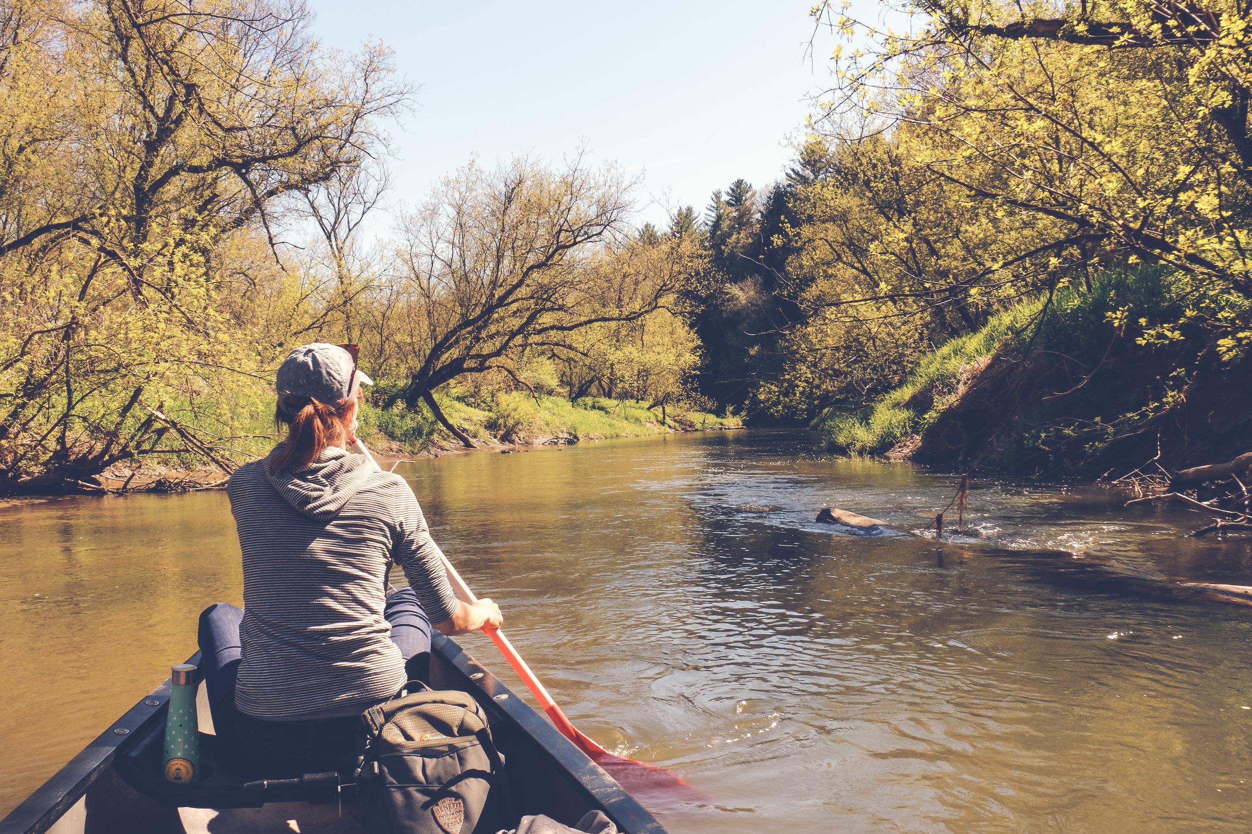 The Kickapoo River