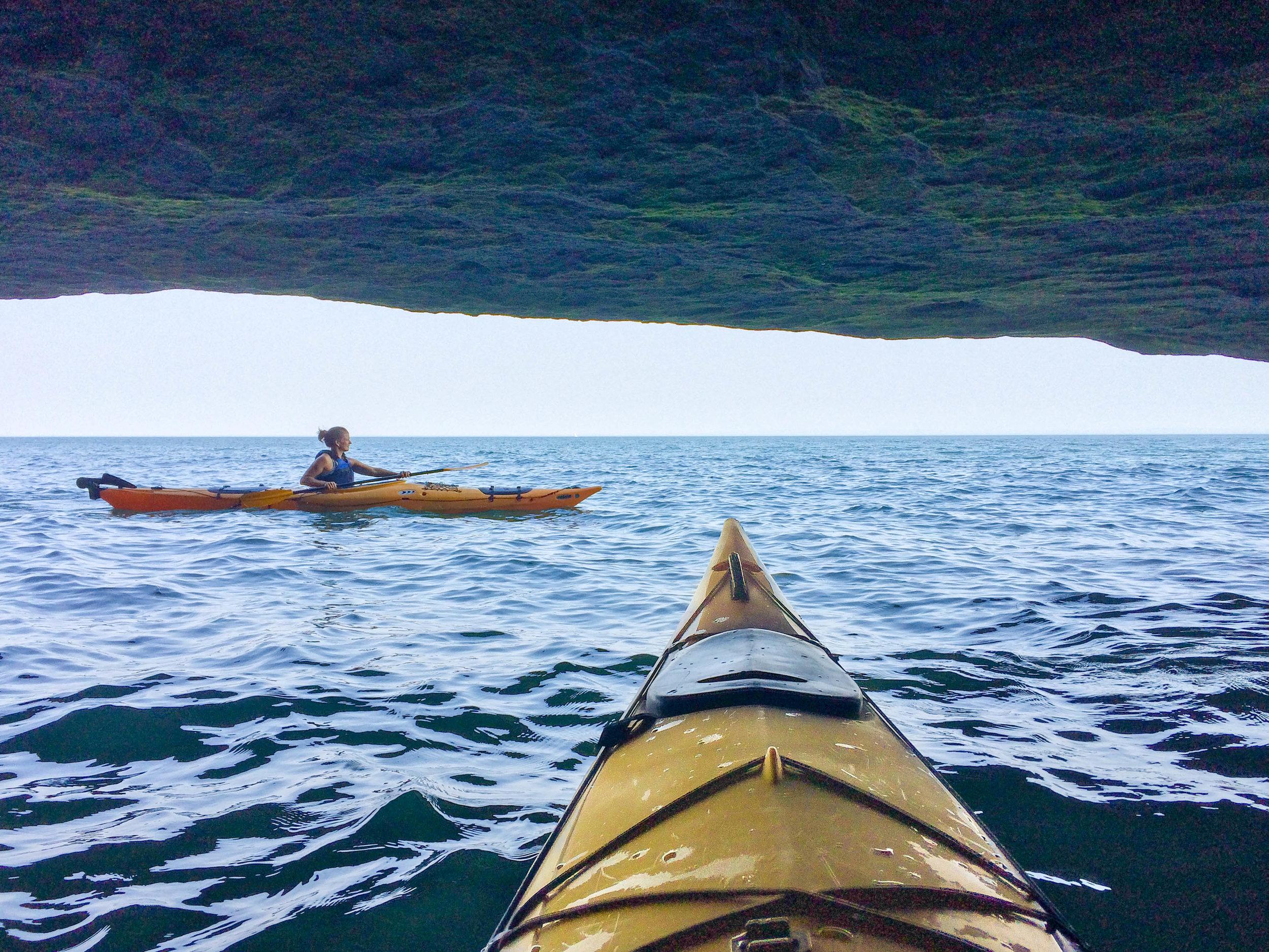 The Sea Caves at Big Bay