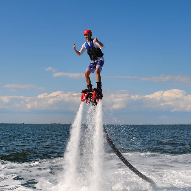 Up and flying in minutes! Flyboarding is easier then it looks.