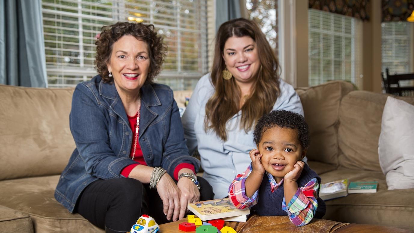 Britt, Julie and Elijah