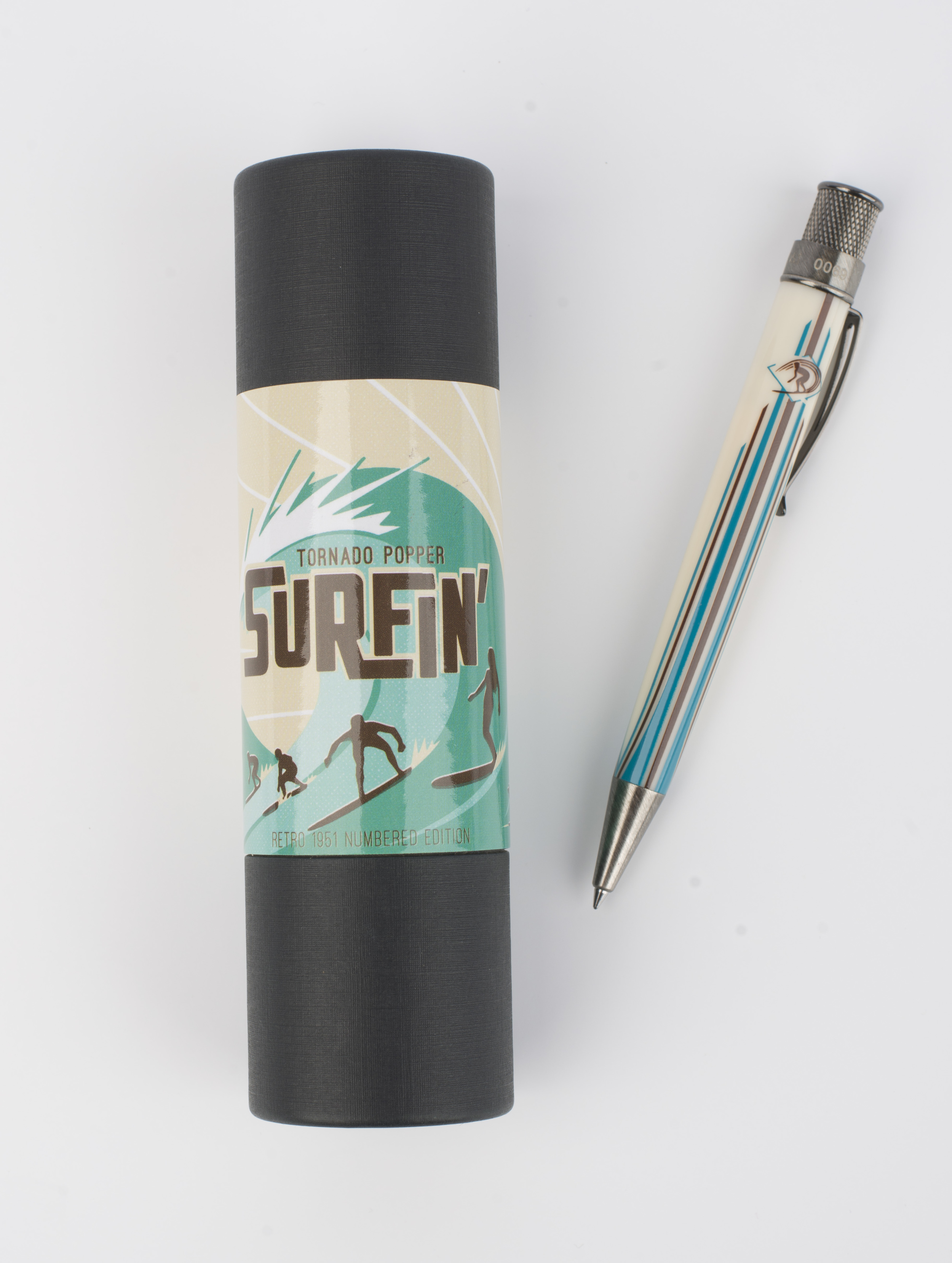 Surf board pen