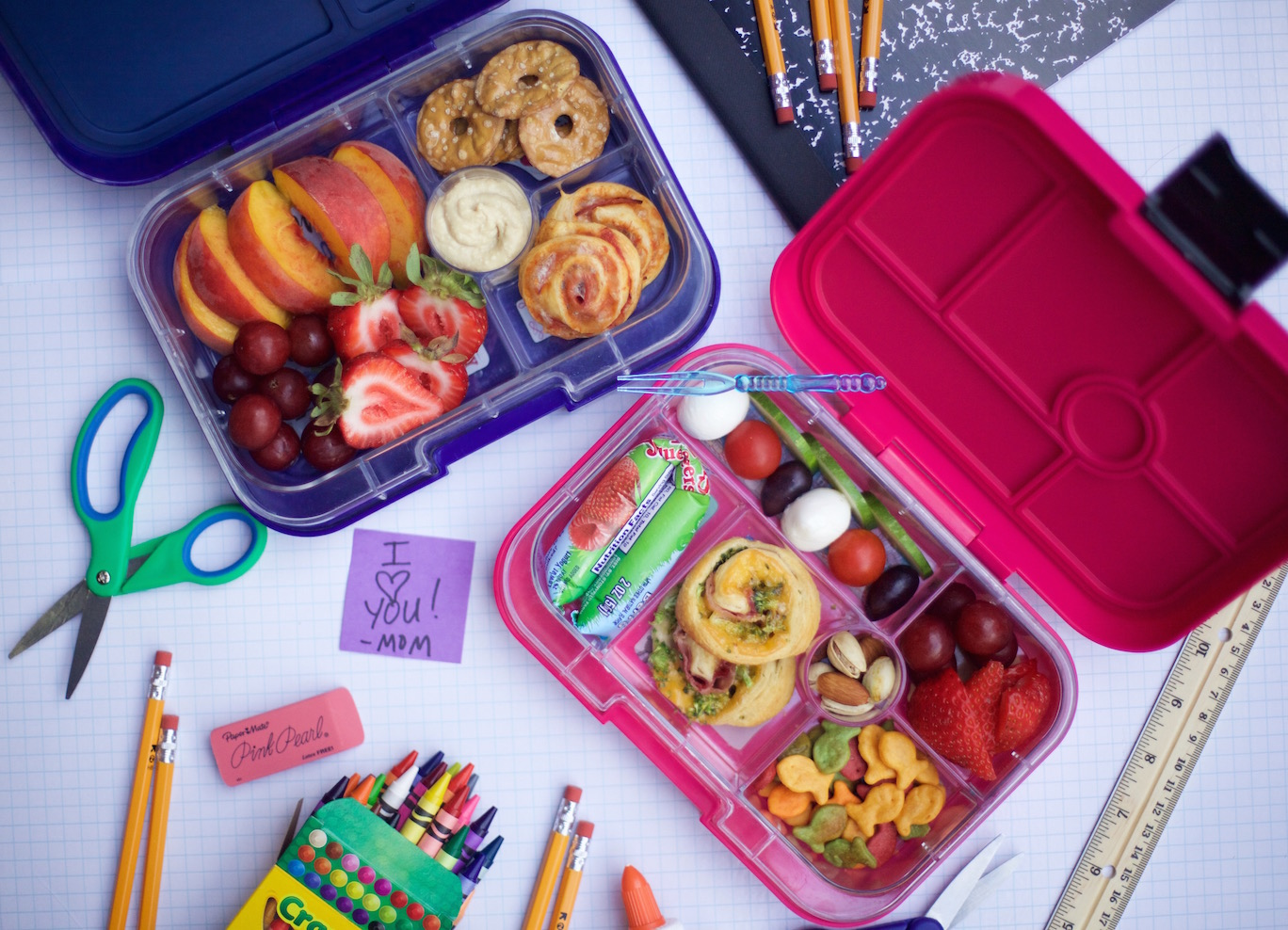 Healthy lunch box recipes