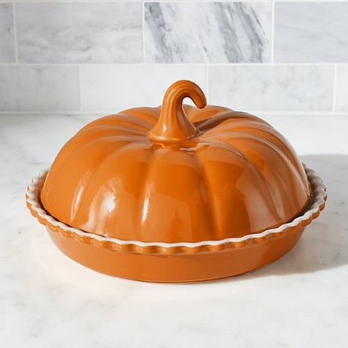 Pumpkin covered dish