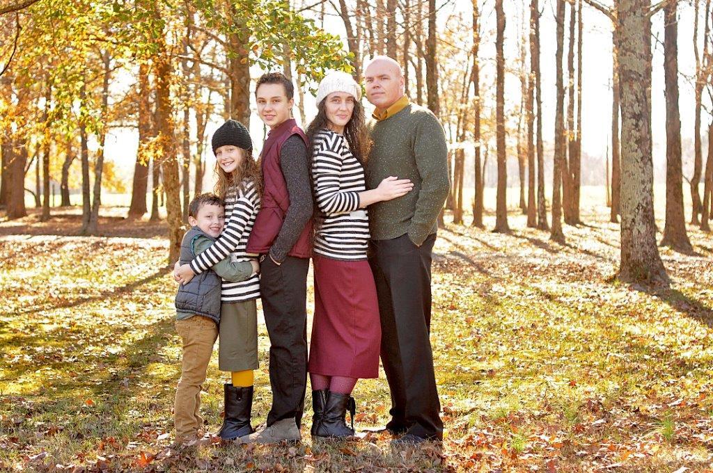 (From left) Caleb, chloe, luke, alicia and jimmy