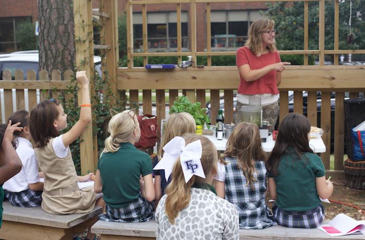 Teach kids to garden