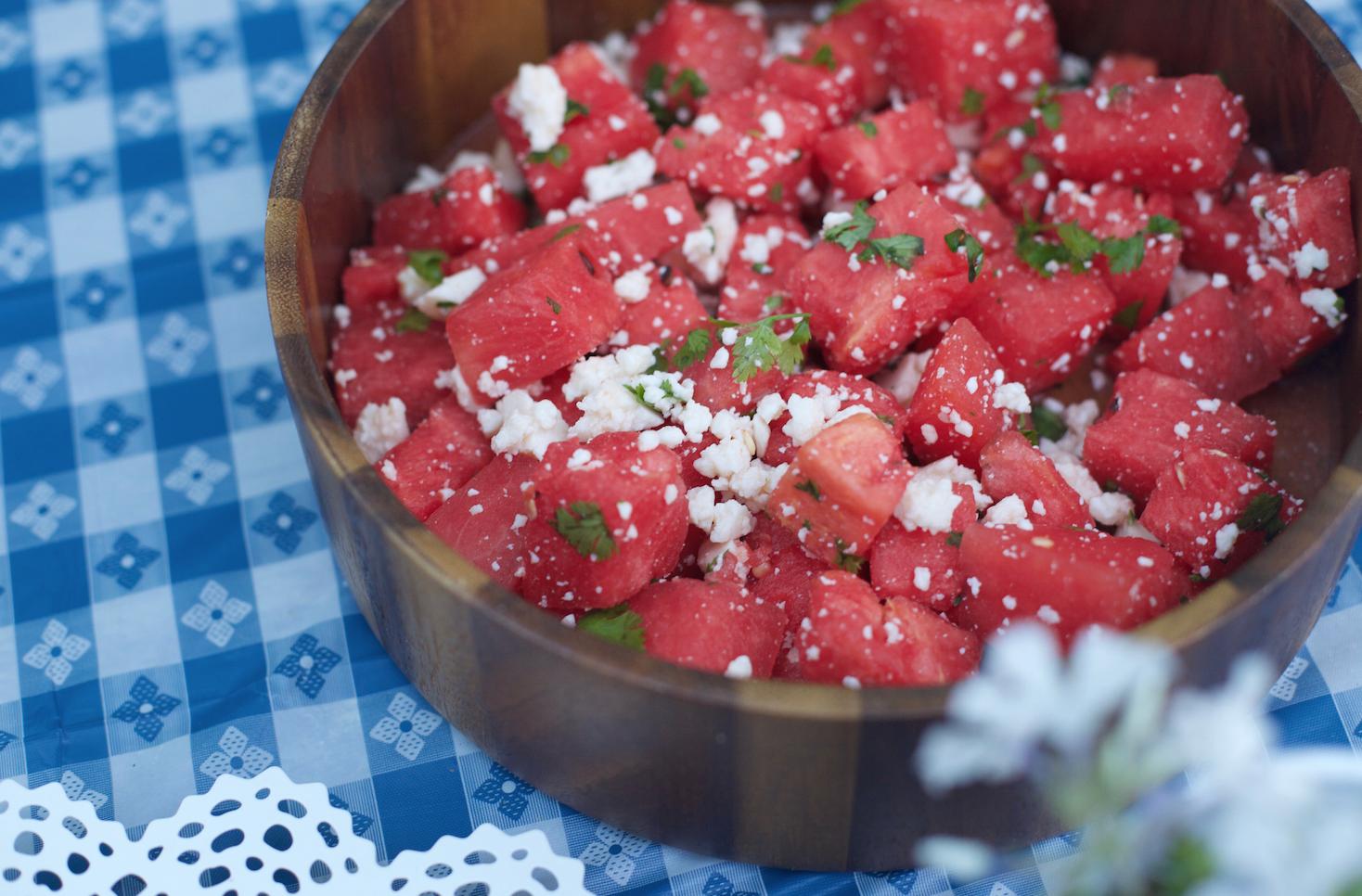 Watermelon Salad Recipe