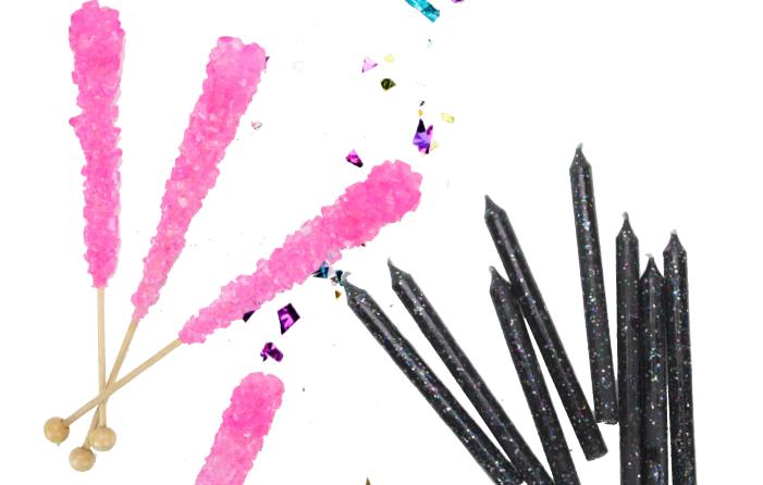 Rainbows and unicorns birthday party idea