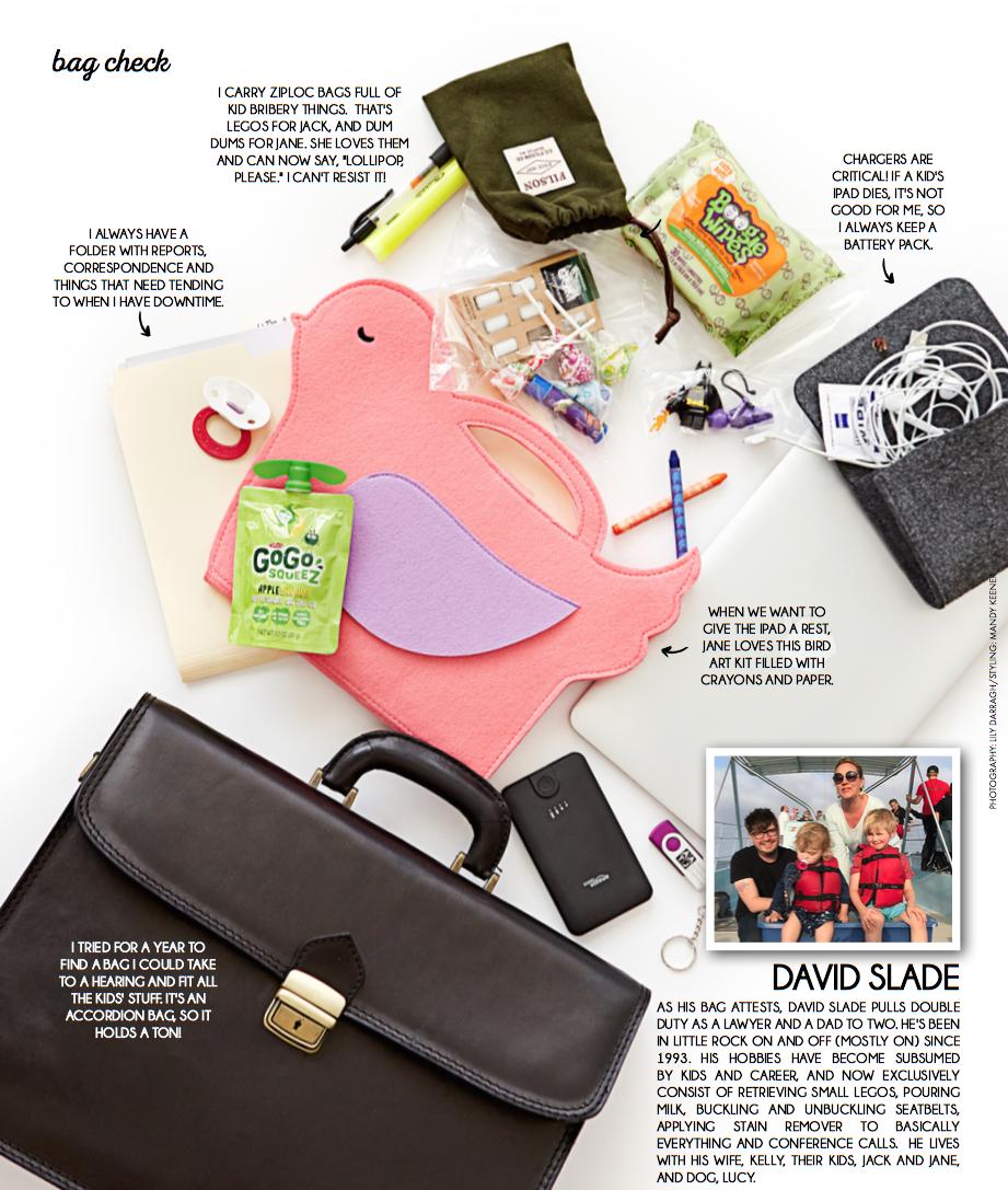 David Slade Bag Check