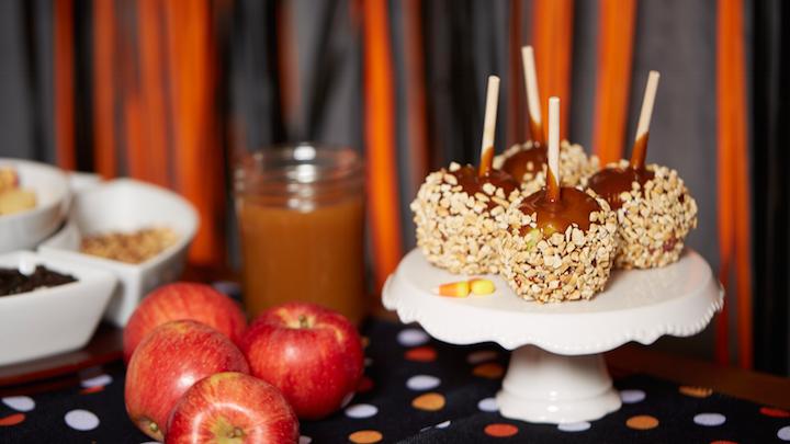 Caramel Apple Halloween Bar
