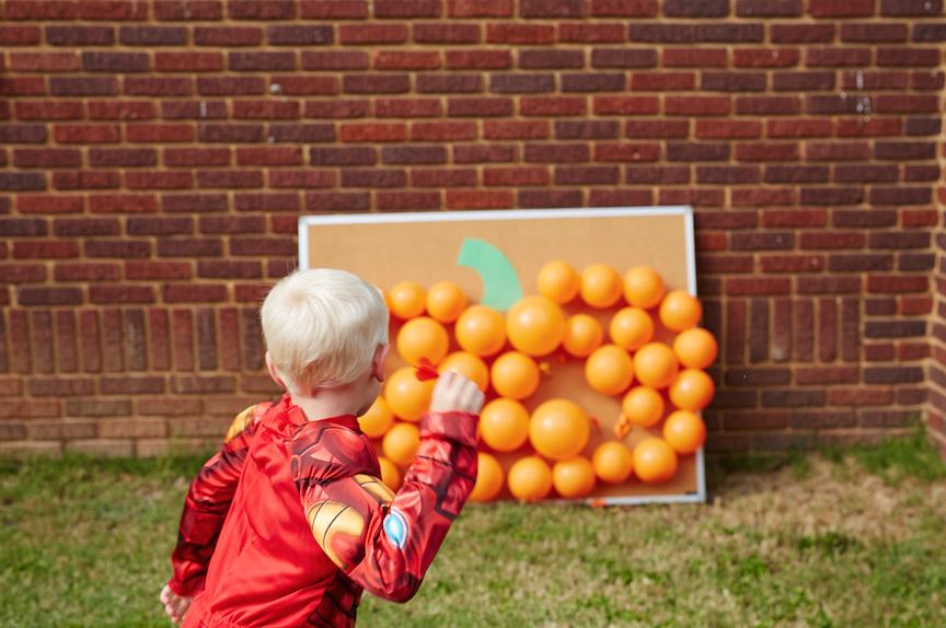 Pumpkin Pop halloween game for kids