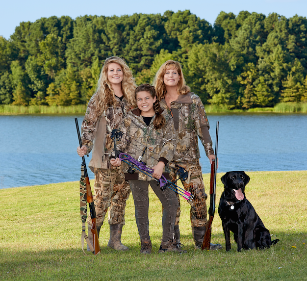 Duck hunting with daughters