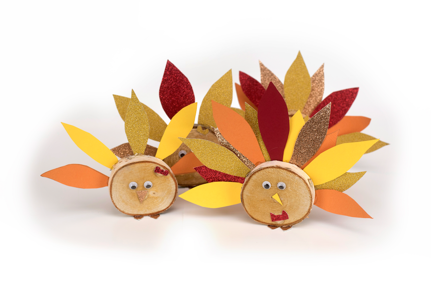 Table Top Turkey Trot Craft Kids