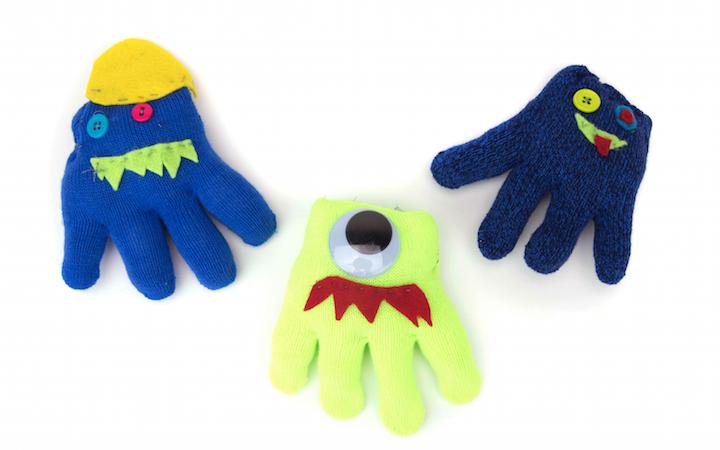 Winter Glove Monsters