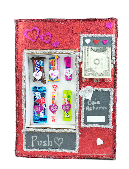 Vending Machine Valentines Day Box
