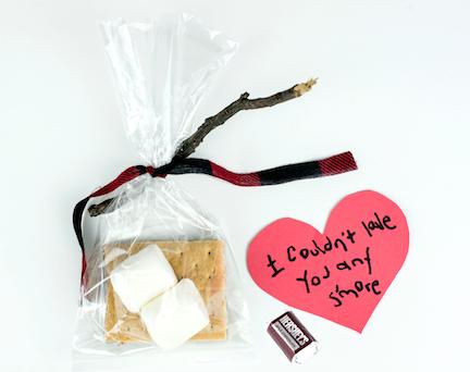 Valentine's Day S'mores